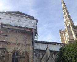 SN BILLON - Maillezais - CHANTIERS EN COURS - CATHEDRALE DE LUCON